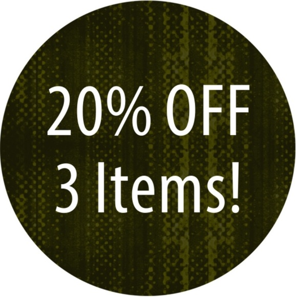 Other - 20% Off Any 3 Items From My Closet!!